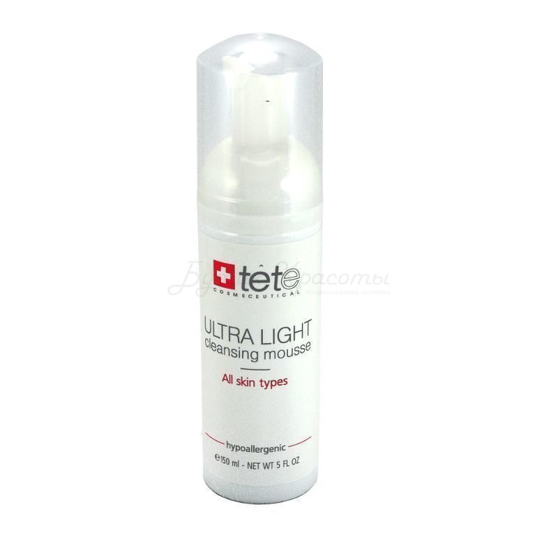 Tete Очищающий мусс ULTRA LIGHT CLEANSING MOUSSE